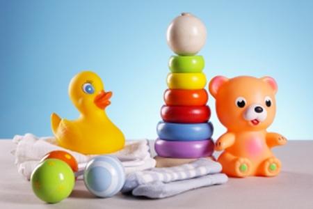 Det deelle legetøj til baby og små børn